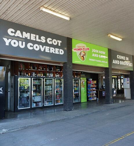 Thirsty Camel Drive-through Bottle Shop